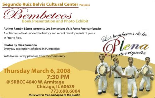 Bembeteos -- Book Presentation & Photo Exhibit